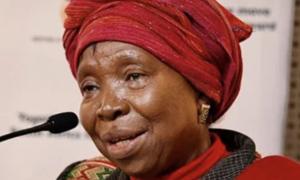 Minister Dlamini-Zuma